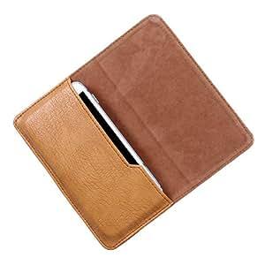 DooDa PU Leather Case Cover For Intex Aqua SECURE