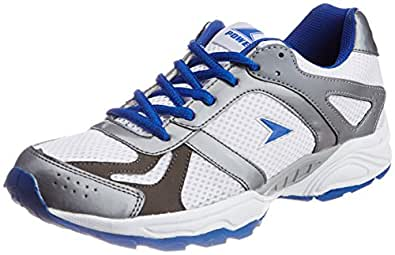 Power Men's Alwin Blue Canvas Running Shoes - 10 UK/India (44 EU) (8399040)