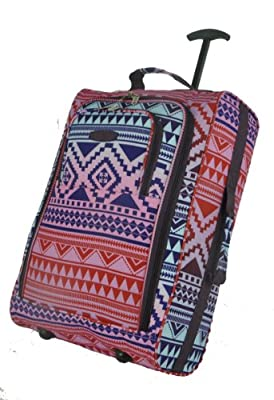 '5Cities® Lightweight Cabin Luggage Hand Luggage Suitcase Travel Bag Cabin Luggage 42L from 5 Cities