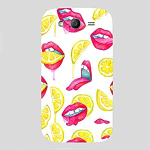 Back cover for Samsung Galaxy Grand 2 Lemon Lips