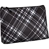 Thermal Zipper Pouch - Black Pick Me Plaid