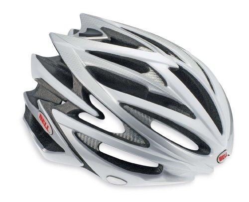 Bell Volt Bike Helmet (Silver/White, Medium)