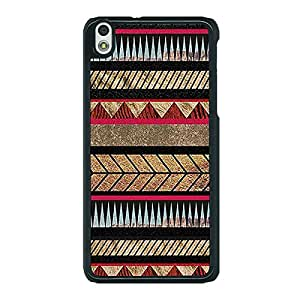 Jugaaduu Aztec Girly Tribal Back Cover Case For HTC Desire 816 Dual Sim