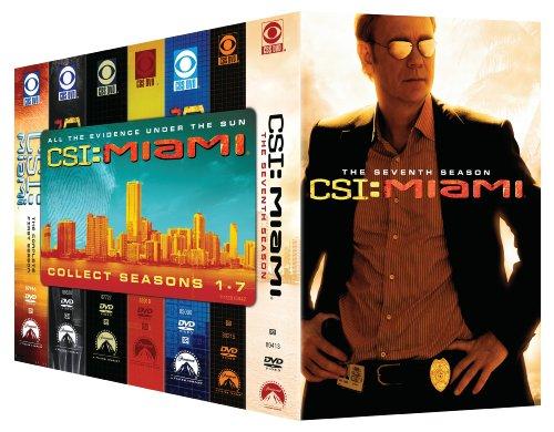 CSI Miami: Seasons 1-7 (Csi Season 5 compare prices)