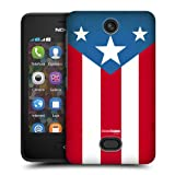 Head Case Usa Flag American Pride Protective Back Case Cover For Nokia Asha 501