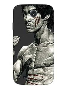 Samsung S4 Cases & Covers - Bruce Lee - Designer Printed Hard Shell Case