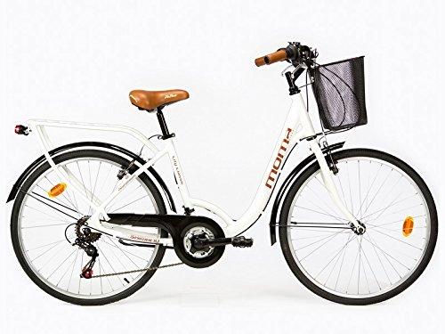 """Bicicletta Passeggio Citybike SHIMANO. Alluminio, 18 velocità, ruota da 26"""""""