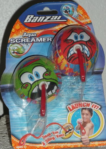 Banzai AQUA SCREAMERZ 2 Pack