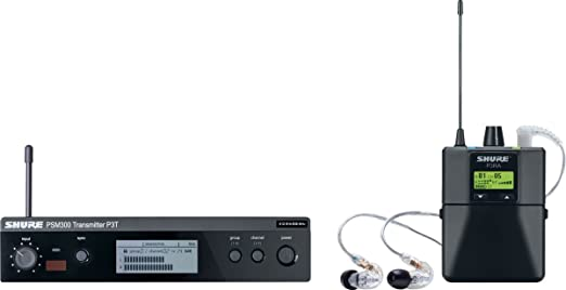 Systèmes ear monitors SHURE P3TERA215CL-K3E