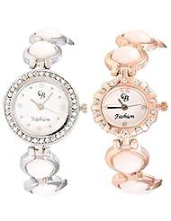 CB Fashion Combo Of Analog Multicolour Dial Women's Watch (RW148)