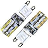 G9 LED, 4er-Packs EnGive G9 3W 64*3014SMD LED Energiesparlampe 300lm 110V-230V Sparlampe (Warmweiss)
