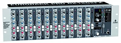 Behringer RX1202FX Ultra Low-Noise Design 12-Input Mic/Line Rack Mixer from Behringer USA