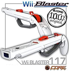 Nintendo Wii Shotgun/Rifle Light Gun Zapper For Nunchuck & Wiimote Game Controllers