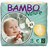 Bambo Nature Diapers - Size 3 - 132 ct
