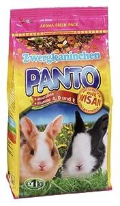 Panto Zwergkaninchenfutter, 3er Pack (3 x 1 kg)