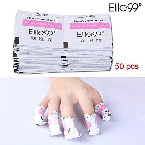 50Pcs/Lot High Quality Gel Polish Remover Wraps Pads Manicure Tools Wet Wipes Paper Pads Foil Nail Art Cleaner for UV Gel (Alex Ani Display compare prices)
