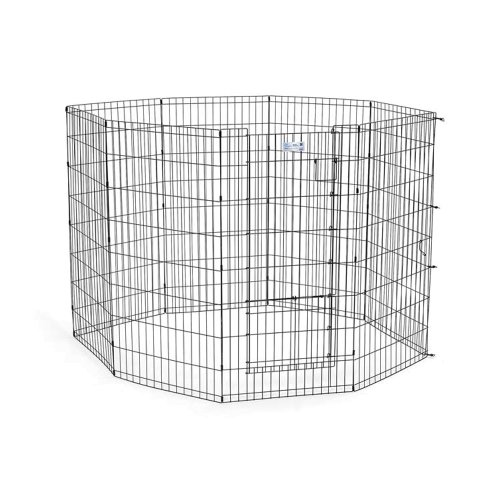 Life Stages Exercise Pen With Split Door 24'' X 42'' 8 Panels