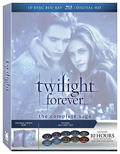 Twilight Forever: The Complete Saga [Blu-ray + Digital] (Twilight Blue Ray Box Set compare prices)