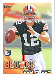 2010 Topps NFL Football Card # 194 Colt McCoy RC - Cleveland Browns ( Rookie Card)... by Topps