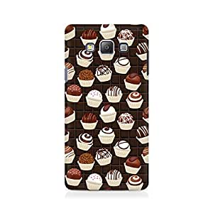 Motivatebox- Dark Cupcakes Premium Printed Case For Samsung On 7 -Matte Polycarbonate 3D Hard case Mobile Cell Phone Protective BACK CASE COVER. Hard Shockproof Scratch-
