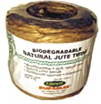 Librett Biodegradable Natural Jute Tw...