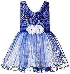 Atayant Girl Evening Dress (ATAYK_002_3:4YR_Blue_M)