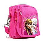Disney Frozen Detachable Lanyard Messenger Shoulder Bag (PINK)