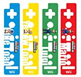 HORI Wii Remote Decoractive Skin - Super Mario Bros. Version B