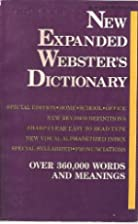 The New Expanded Webster's Dictionary…