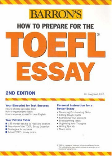 toefl essay book Sample essays for the toefl writing testpdf - papers  this book is designed  as a crash course for the toefl essay exam, sometimes ace the toefl essa.