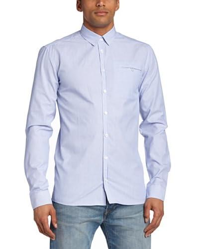 minimum Camisa Hombre Azul Claro