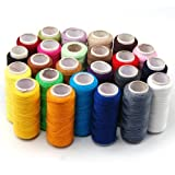 Crazy Shopping Assorted Spools Polyester Sewing Thread Full Size