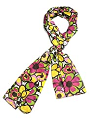 Indian Fashion Guru Most Exquisite Digitally Printed Cute Floral And Colourful White Base Cotton Stole For Women...
