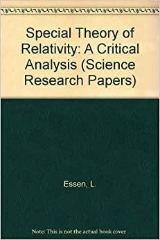 special relativity research papers Unsolved problems in special and general relativity fu yuhua writes the next paper he says that special theory of relativity and general research fellow.