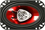 "BOSS Audio CH4620 Chaos Exxtreme 200-watt 2 way auto 4"" x 6"" Coaxial Speaker"