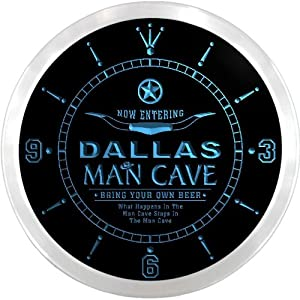 Dallas cowboys wall clock dallas cowboys round wall clock short news
