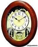 Nostalgia Oak Legend Clock