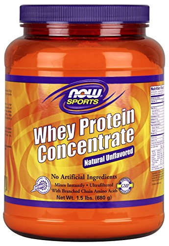 Now Foods Whey Protein Concentrate, 1.5 Pound