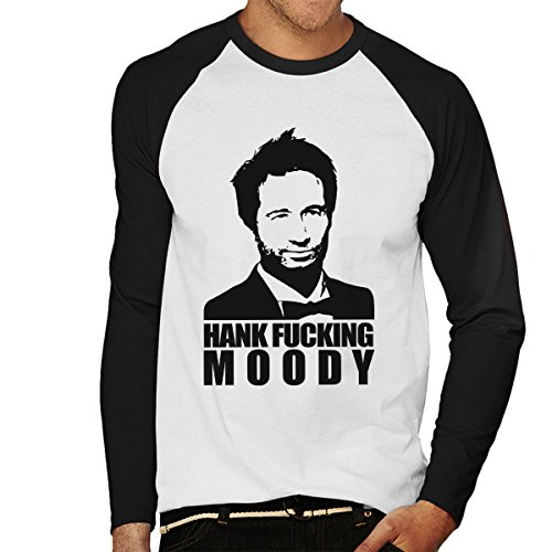 Hank Fucking Moody Californication Men's Baseball Long Sleeved T-Shirt