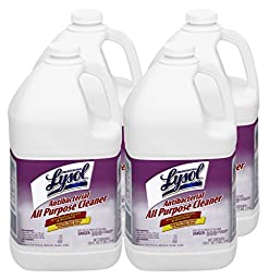 Lysol Professional Antibacterial All Purpose Cleaner, 128 oz, Case of 4