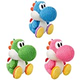 Amiibo Nintendo Yarn Yoshi Wooly World Green Pink Blue 3set 3DS WiiU (Japan Import)
