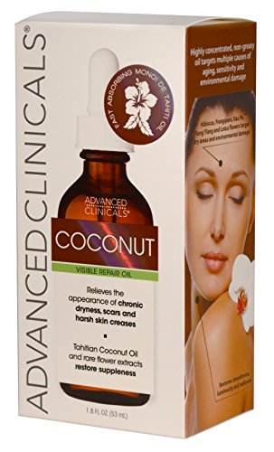 Advanced-Clinicals-Coconut-Oil-for-Skin-Repair-Coconut-Oil-for-Face-Body-and-Hair-For-Chronic-Dryness-Scars-Stretch-Marks-and-Harsh-Skin-Creases-18-Fl-Oz