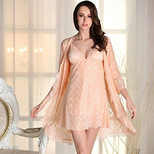 Da wu jia Ms. Underwear Da Wu Jia Frau Unterwäsche Luxus Nachthemd sexy Frauen komfortable Damen Nachtwäsche Schlafanzug Sexy , l