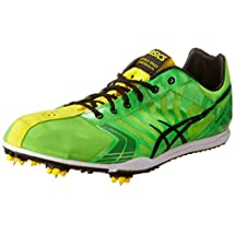 ASICS Men's Spivey LD Running Shoe,Green/Black/Yellow,9 M US