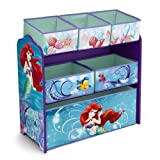 Delta Disney The Little Mermaid Multi Bin Toy Organizer
