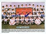 Autograph Warehouse 60994 1973 New York Mets Postcard 1981 Edition 4.8 x 6.8 Autographed By Tug Mcgraw, Jerry Grote, Wayne Garrett, Felix Millian, and Bud Harrelson