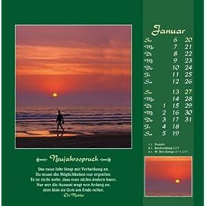 Gute Wünsche sollen dich begleiten 2017: Elli Michler-Postkarten-Kalender