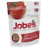 Jobe's 6005 18-Spikes Tomato Outdoor Fertilizer