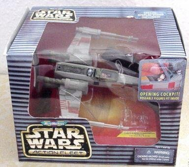 Star Wars Action Fleet MicroMachines X-Wing Starfighter (Porkins Action Figure compare prices)