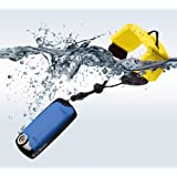 BIRUGEAR Bright Banana Yellow Foam Floating Wrist Strap for Underwater / Waterproof Cameras